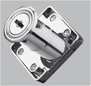 19mm zinc alloy Cabinet & Drawer Locks, made in China